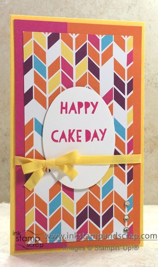 happy birthday, quick card, framelits, mojo360, linda bartolucci