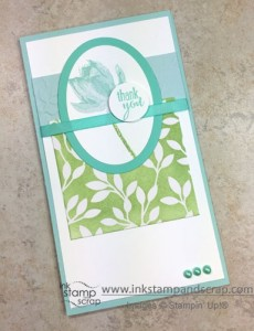 lotus blossom, stampin up punches, big shot