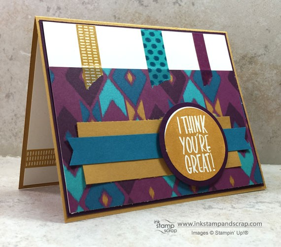 mojo398, stampin up punches, sneak peek products, bohemian